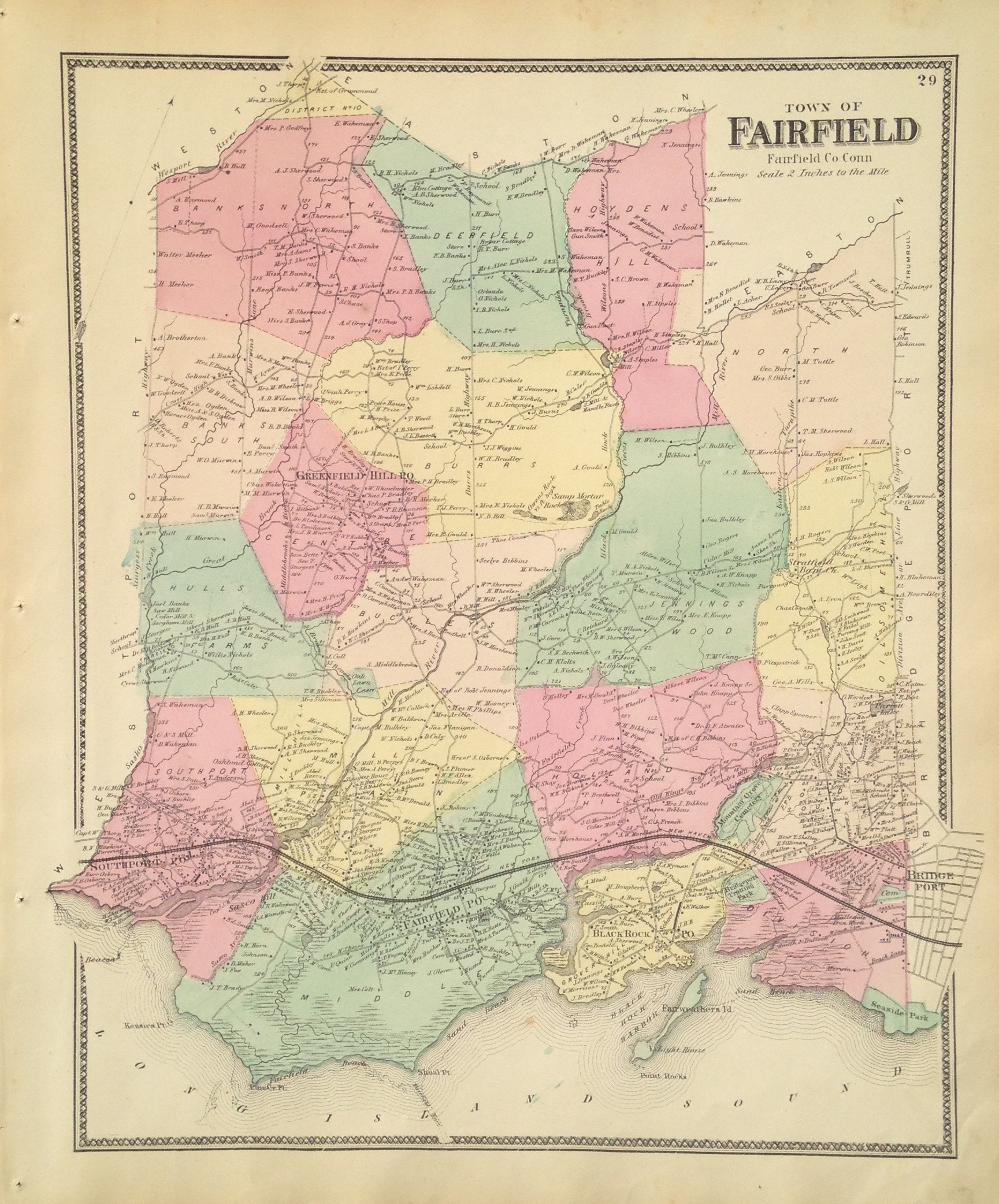 Fairfield, CT map
